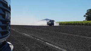Fertilising cane land