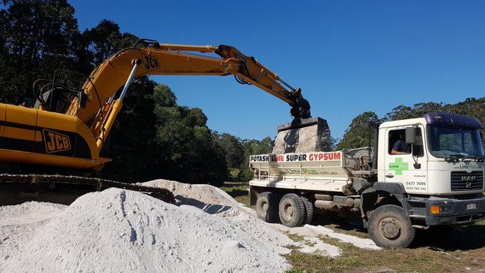 Loading up fertiliser