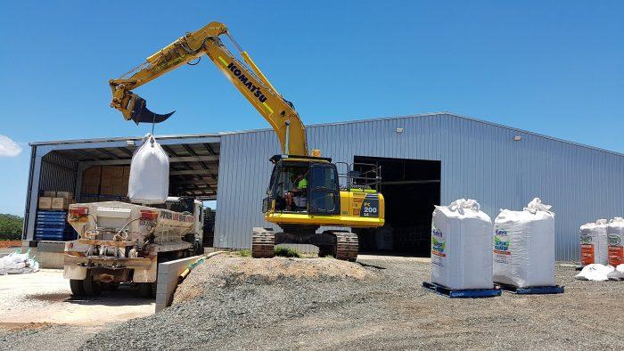 Fertiliser loading